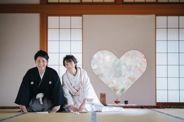 京都正寿院の前撮り・フォトウェディング