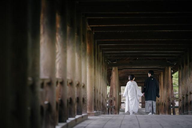 京都東福寺の前撮り・フォトウェディング