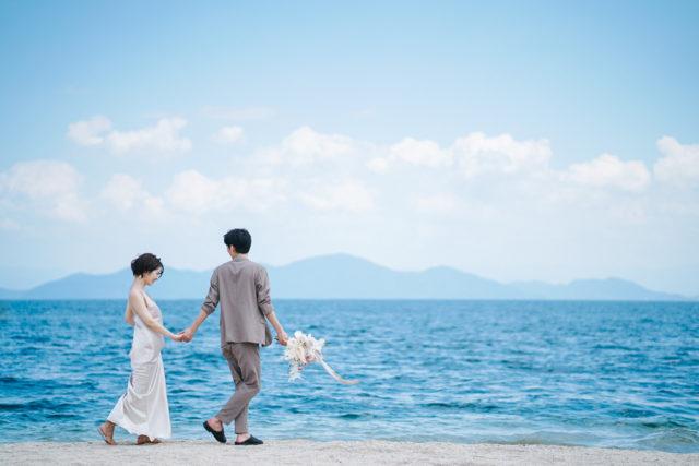 滋賀琵琶湖の結婚式写真