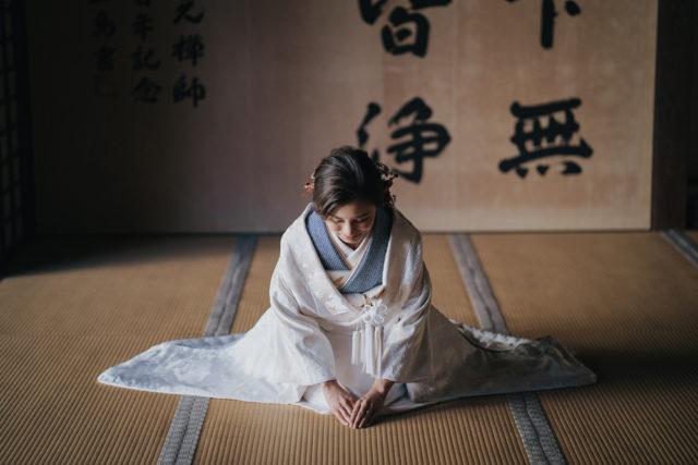 京都萬福寺の前撮り・フォトウェディング